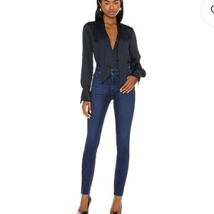 Paige Hoxton Ultra Skinny blue jeans
